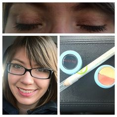 Time for #featurefriday number 2! My eye look today uses Mary Kay's #hellosunshine Springy Eye Duo in Summer Sunset. I really like the cream to powder finish, easy to apply and feels soft and silky. I also added some depth to the outside corner with the Mary Kay @ Play Over the Taupe eye crayon. Finished off with black gel eye liner and Love Lash mascara.  www.marykay.com/heather.jensen