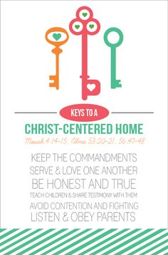 All Things Bright and Beautiful: Come Follow Me: Establishing a Christ-Centered Home