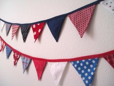 Fourth of July party decor.