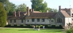 Igtham Mote, Kent - Bought by an American and donated to the British National Trust. Visit National Trust sites with The Royal Oak Foundation