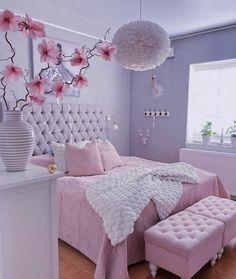 Best Blush Pink And Lovely Bedroom Design Ideas Part 1 ; pink bedroom ideas for women; pink bedroom ideas for kids; pink bedroom ideas for adults; pink bedroom grown up Cute Bedroom Ideas, Cute Room Decor, Girl Bedroom Designs, Room Ideas Bedroom, Cozy Bedroom, Design Bedroom, Bedroom Modern, Magical Bedroom, Light Bedroom