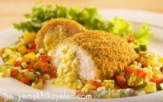 Rus Mutfağı: Kiev Tavuğu - Tarifler > Dünya mutfaklarından Baked Potato, Chicken, Ethnic Recipes, Food, Hotels, Search, Breast, Image, Recipes
