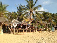 Hippie Bars am Kong Khlong Beach auf Koh Lanta in Thailand