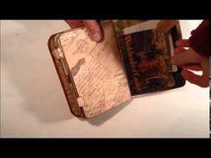 Mini Envelope Travel Junk Journal Swap - YouTube