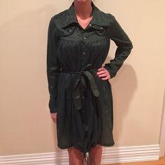 Nicholas K dress metallic green in brand new condition Nicholas K Dresses