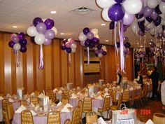 balloon center pieces with lights | Balloon Décor of Central New York