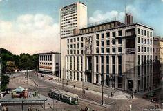 Palazzo del Popolo d'Italia, Giovanni Muzio, Milan, 1938 - 1942