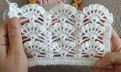 "Crochet - How To Make Easiest ""Heart In Granny Square"" (Step By Step Tutorial) ♥ Pearl Gomez ♥ - Crochet - Diy Crafts Crochet Diy, Filet Crochet, Crochet Lace Scarf, Crochet Motifs, Crochet Stitches Patterns, Crochet Designs, Crochet Flowers, Knitting Patterns, Crochet Doilies"
