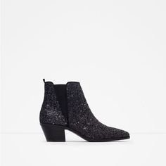 Image 1 of SPARKLE ANKLE BOOTS from Zara