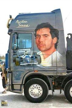 Ayrton Senna - homenagem