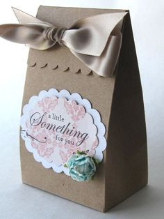 """""""A Little Something for You"""" - Personal touch gift bag."""