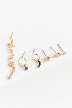 Shop Celestial Post Earring Set at Urban Outfitters today. We carry all the latest styles, colors and brands for you to choose from right here.