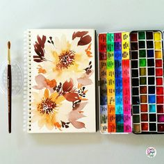 Missing my loose florals… so stressed lately, I just want a breather huwahh #calligrafikas #grafikas #dreweuropeo #illustration #grafikaflora #expressivepainting #watercolor #loosefloralpainting Paper: @halfpanph wc journal (Arches 300gsm) Brush:...