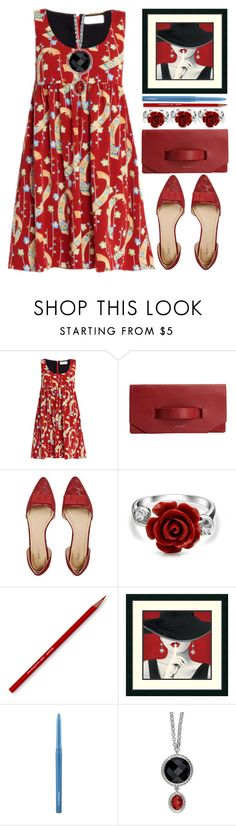 """""""Babydoll"""" by grozdana-v ❤ liked on Polyvore featuring Yves Saint Laurent, JustFab, Bling Jewelry, MAC Cosmetics and babydoll"""