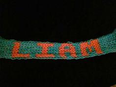Name loom band bracelet