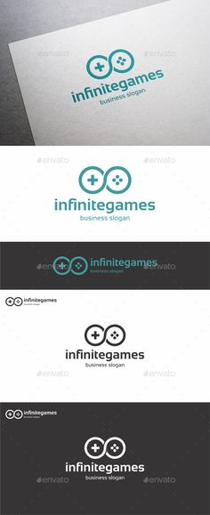 Infinite Games — Vector EPS #branding #techno • Available here → https://graphicriver.net/item/infinite-games/14146807?ref=pxcr