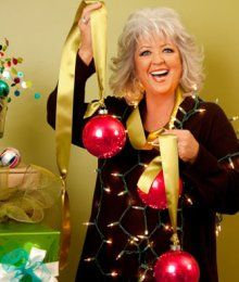 Paula Deen - Christmas recipes and decorations