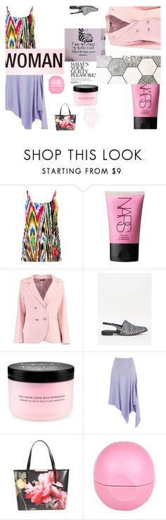 """Work it!"" by peeweevaaz ❤ liked on Polyvore featuring Warehouse, NARS Cosmetics, Victoria's Secret, Ted Baker, River Island, outfit, officewear, polyvoreeditorial and polyvorefashion"