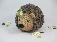 Crochet Hedgehog Amigurumi Hedgehog Stuffed by CROriginals on Etsy
