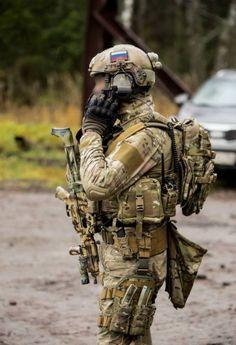 Экипировка сотрудника группы захвата Альфа, ФСБ.