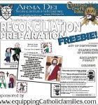Reconciliation Prep FREEBIE: this is our 35th Printable at Equipping Catholic Families...and it's FREE!