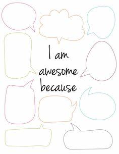 4 Free Printable Self Esteem Worksheets - Freebie Finding Mom Self Esteem Worksheets, Counseling Worksheets, Self Esteem Activities, Therapy Worksheets, Counseling Activities, Self Esteem Crafts, Cbt Worksheets, Free Printable Worksheets, Cognitive Behavioral Therapy
