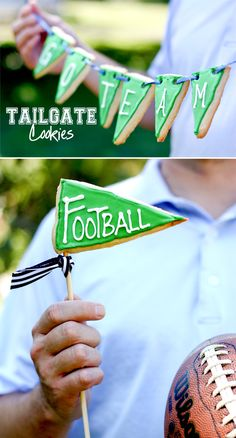 Tailgate Football Pennant Cookies » Apartment Living Blog » ForRent.com : Apartment Living