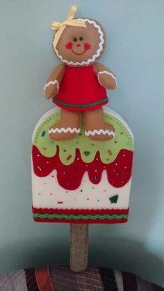 64 (360x640, 149Kb) Felt Christmas Ornaments, Christmas Tea, Christmas Sewing, Christmas Candy, Christmas Themes, Christmas Holidays, Christmas Decorations, Cute Crafts, Felt Crafts