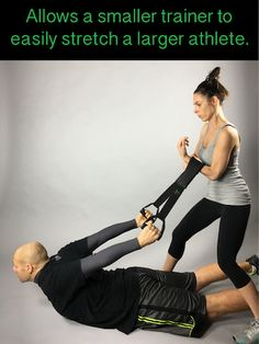 Chances are if you are an athletic trainer your athlete is bigger than you.  The RePose is designed to help the smaller trainer stretch a larger athlete without straining themselves reducing injury to the trainer #recovery #reinventingrecovery #fitness #healthyliving #itsamust