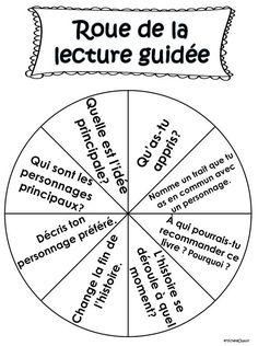 Voici une multitude d'activités à faire pendant la lecture guidée avec vos élèves. Les activités peuvent être utilisées avec n'importe quel livre.