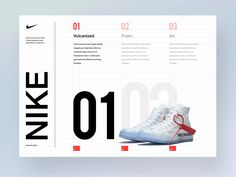 Inspiration Interface Nike Off white layout by Beasty 🐯 Understanding Toxic Black Mold! Portfolio Design Layouts, Graphic Design Layouts, Book Design Layout, Print Layout, Design Posters, Typography Design Layout, Website Design Layout, Design Blog, Website Design Inspiration