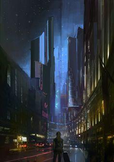 ArtStation - Arrival, Frank Hong