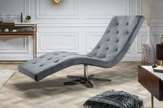 Kreslo RELAX II SILVER Lounge, Chesterfield, Couch, Furniture, Home Decor, Products, Silver, Environment, Chair
