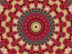 Mandala floral by Lara . Tropical Colors, Tree Skirts, Mandala, Christmas Tree, Tapestry, Holiday Decor, Floral, Home Decor, Beauty