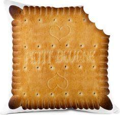Biscuit Cushion    Bonjour mon coussin - Coussins et objets de deco graphiques et design