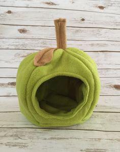 Hedgehog Green Apple Guinea Pig Plush by HenrysHedgehogHaven