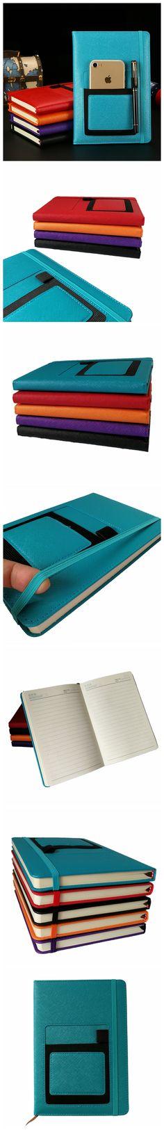 Paperchase Deboss Floral Outline Pocket Organiser Pattern Pen Loop New Box Blue