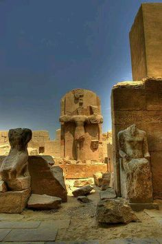 Karnak temple, Ancient Egypt Pharaoh.