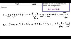 Clasa a V a   Cap  Numere naturale   ex 3   Sume de tip Gauss