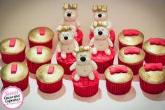 Sweet Cucas and Cupcakes by Rosângela Rolim: Mini Cupcakes Ursinhas