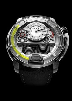 #HYT H1: First Hybrid Mechanical-Fluid #Watch in the World