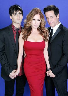 The Young and the Restless Photos: Max Ehrich, Tracey E. Bregman and Christian Jules LeBlanc on CBS.com