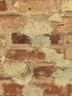 Faux brick wallpaper??