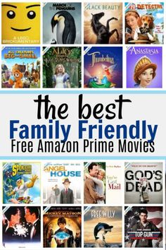 Browse and Watch all your favorite online movies & series for free! Free Kids Movies, Best Kid Movies, Dc Movies, Netflix Movies, Great Movies, Funny Family Movies, Amazon Prime Free Movies, Amazon Prime Shows, Movie To Watch List