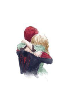 Gwen Stacy & Peter Parker