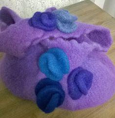 extravagant - Handtasche aus Wolle - verfilzt