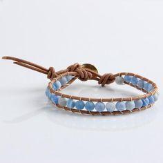 Coogee- Leather Beaded Bracelet