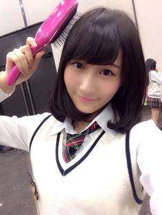 Yagura Fuuko (矢倉楓子) - NMB48 / AKB48 - Team M / Team A - #Google+ #gravure #jpop #idol #nmb48 #beautiful #japan #selfie