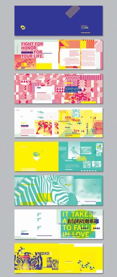 Brochure design ideas Fight For Honor
