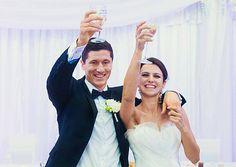 Robert Lewandowski and Anna Stachurska wedding